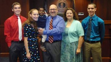 Hinton Family Adoption Banner Image
